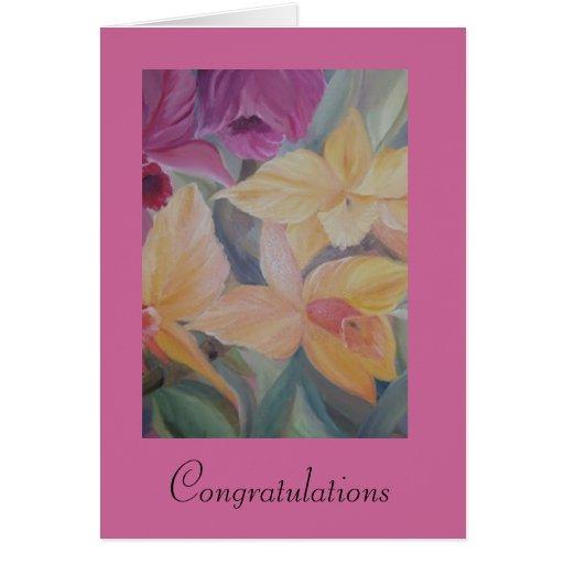 enhorabuena tarjeta de felicitación