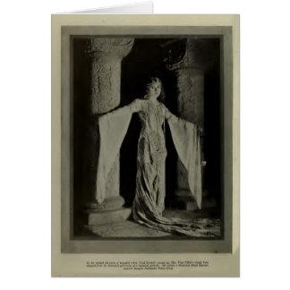 Enid Bennett 1922 vintage portrait card