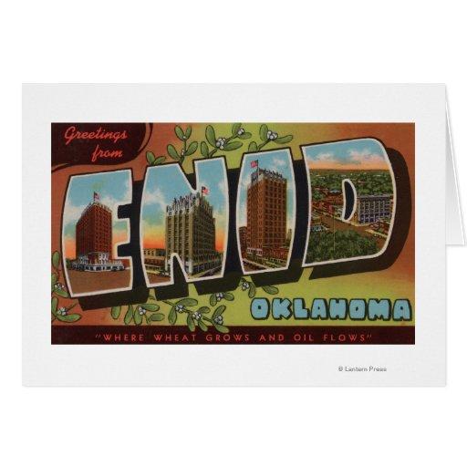 Enid, letra ScenesEnid, AUTORIZACIÓN de OklahomaLa Tarjeta De Felicitación