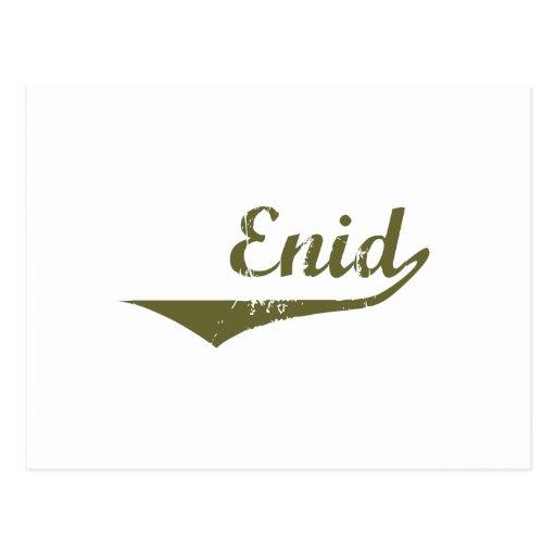 Enid Revolution t shirts Post Cards