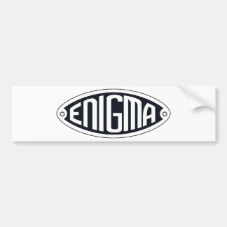Enigma Bumper Sticker