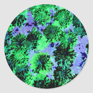 Enigma floral 2 pegatinas