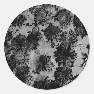 Enigma floral 4 etiqueta