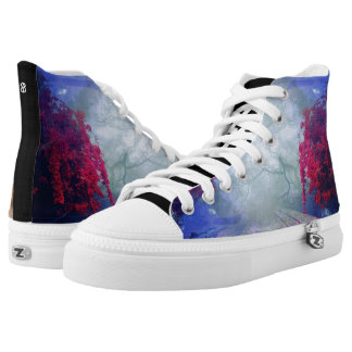 Enigma High-Top Sneakers
