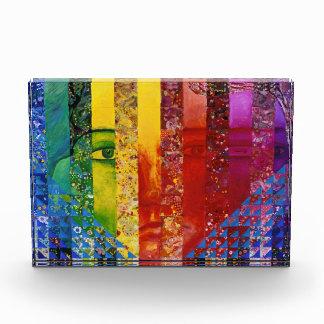 Enigma I - Diosa abstracta de la mujer del arco