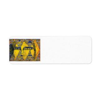 Enigma II - Diosa de oro y del zafiro Etiquetas De Remite