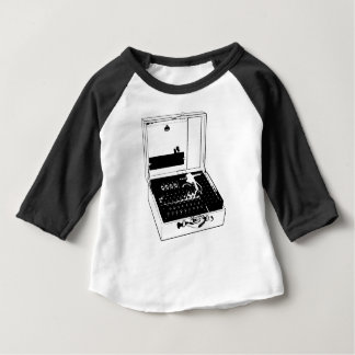 Enigma Machine Cryptography World War II Baby T-Shirt