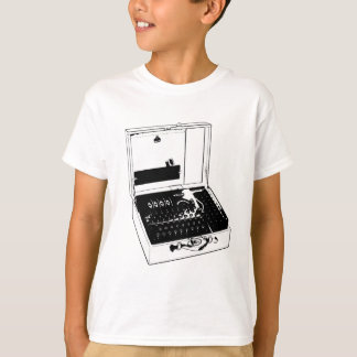 Enigma Machine Cryptography World War II T-Shirt