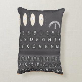 Enigma Machine Accent Pillow