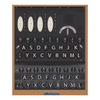 Enigma Machine Print