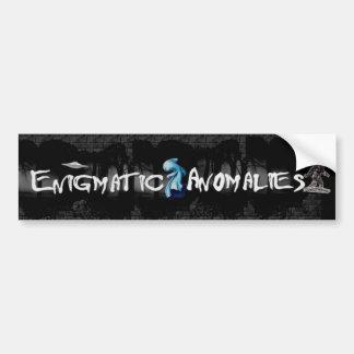 Enigmatic Anomalies Bumper Sticker Car Bumper Sticker