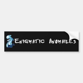 Enigmatic Anomalies Car Bumper Sticker
