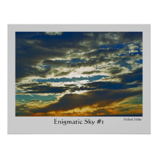 Enigmatic Sky #1 Poster