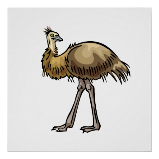 Enis Emu Poster
