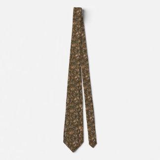 Enjambre de la abeja del patio trasero corbata personalizada