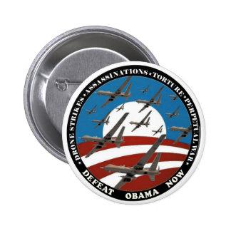 Enjambre del abejón de Anti-Obama Pin Redondo De 2 Pulgadas