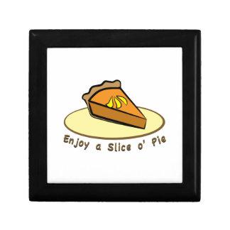 Enjoy a Slice Keepsake Box