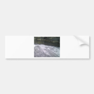 Enjoy a summer splash bumper sticker