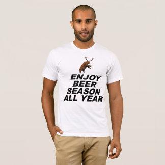 Enjoy Beer Season All Year T-Shirt