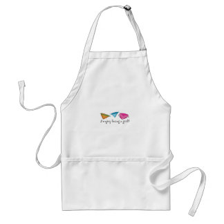 Enjoy Being A Girl! Adult Apron