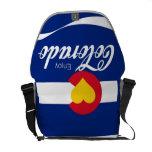 enjoy CO messenger bag