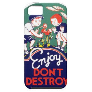 Enjoy Don't Destroy iPhone SE/5/5s Case