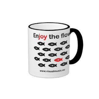 Enjoy flow the taza de dos colores