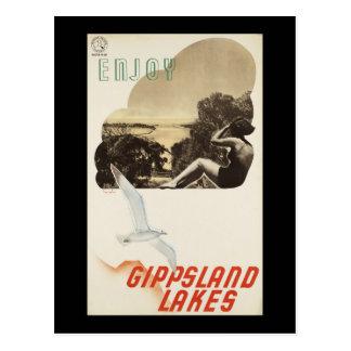 Enjoy Gippsland Lakes Postcard