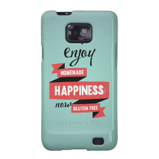 Enjoy homemade happiness, now gluten free samsung galaxy SII cover