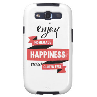 Enjoy homemade happiness, now gluten free samsung galaxy SIII covers
