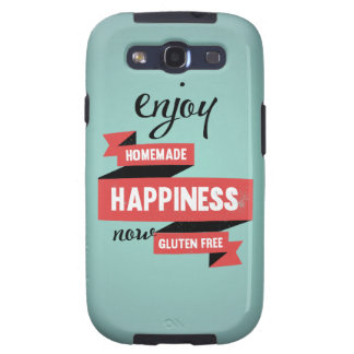 Enjoy homemade happiness, now gluten free galaxy SIII cover