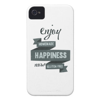 Enjoy homemade happiness, now gluten free Case-Mate iPhone 4 case
