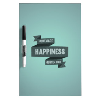 Enjoy homemade happiness, now gluten free dry erase board