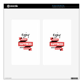 Enjoy homemade happiness, now gluten free kindle fire skins