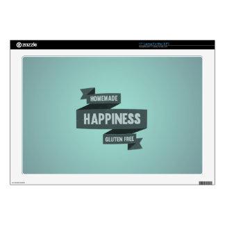 Enjoy homemade happiness, now gluten free laptop skins