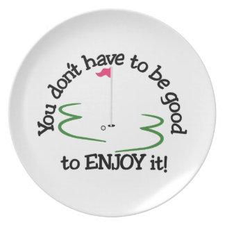 Enjoy It! Plate