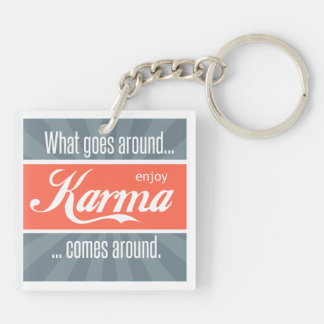 Enjoy Karma Keychain