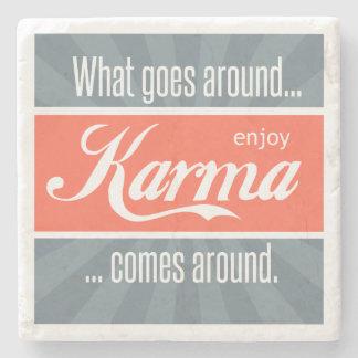 Enjoy Karma Stone Coaster