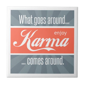 Enjoy Karma Tile