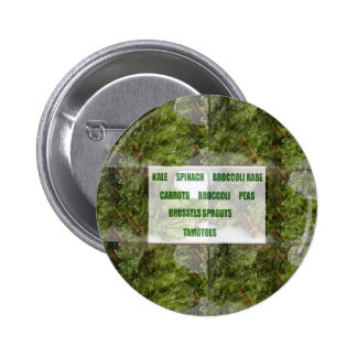 ENJOY LEAFY GREEN VEGETABLES HEALTHY CHOICES BUTTON