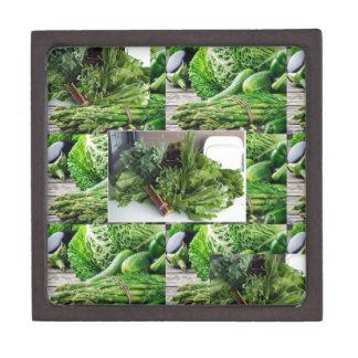 ENJOY LEAFY GREEN VEGETABLES HEALTHY CHOICES GIFT BOX