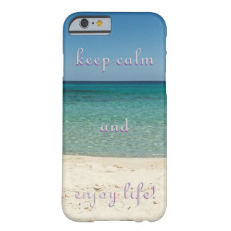 Enjoy life beach ton sea view photo phone case