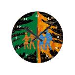 ENJOY LIFE :  Day n Night Wall Clock