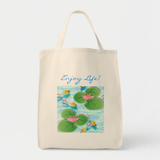 Enjoy Life! Grocery Tote Bag