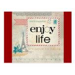 Enjoy Life: It's Good to Dream Postcards