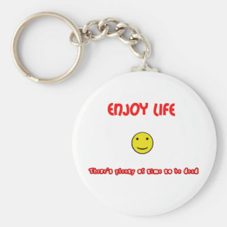 Enjoy Life Keychain