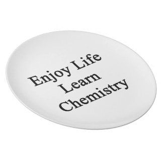 Enjoy Life Learn Chemistry Plate