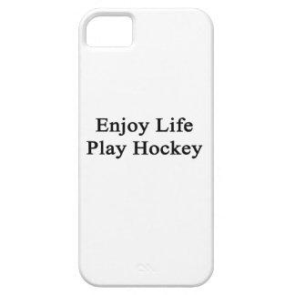 Enjoy Life Play Hockey iPhone 5 Case