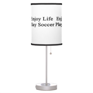 Enjoy Life Play Soccer Table Lamps