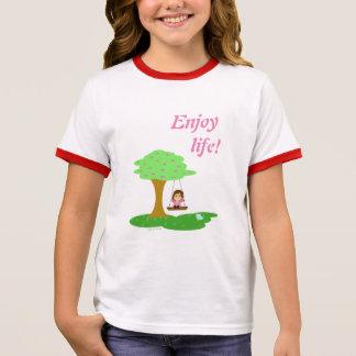 Enjoy life! ringer T-Shirt